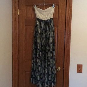 Dresses & Skirts - Strapless Maxidress — Medium